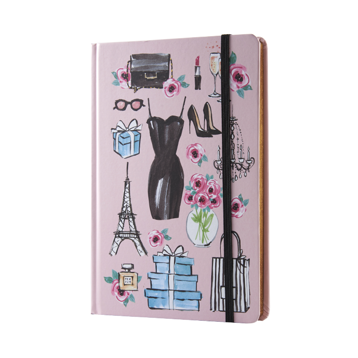 Coated Paper with Full Colour Printing Hardcover Notebook